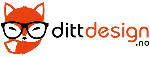 Dittdesign.no Retina Logo